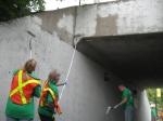 septembre 2012 première corvée de graffitis